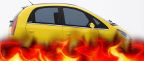 Tata Nano Is On Fire