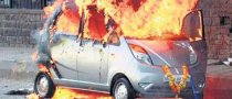 Tata Nano Spontaneous Combustion
