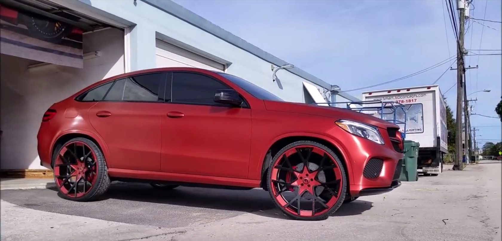 tatedesign turns a mercedes benz gle450 amg coupe into a chiropractor s dream autoevolution. Black Bedroom Furniture Sets. Home Design Ideas