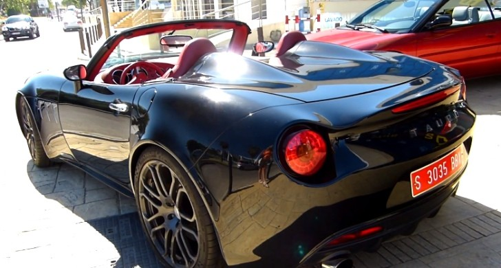 Tauro V8 Spider The First Spanish Musclecar Autoevolution