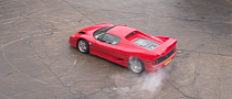 Tax The Rich Ferrari F50 Shot With High Speed Camera [Video]
