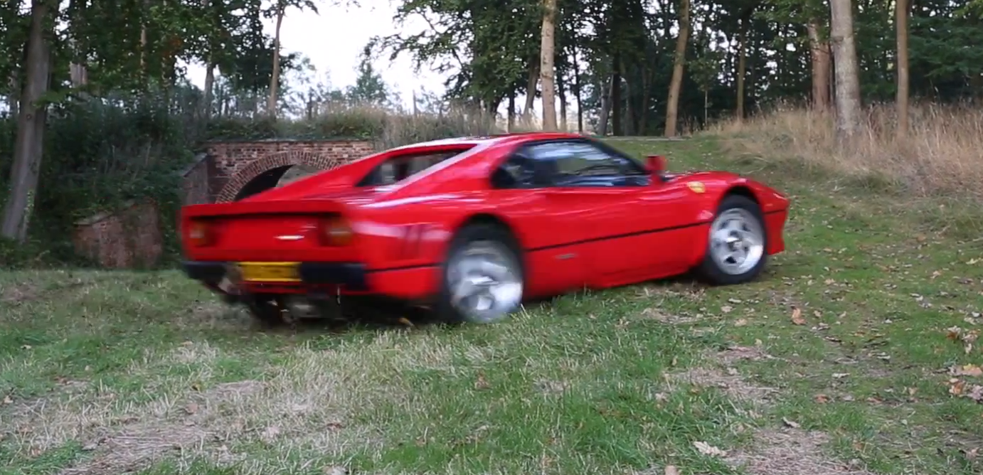 Tax The Rich Treats Ferrari 288 GTO Like a Rally Car