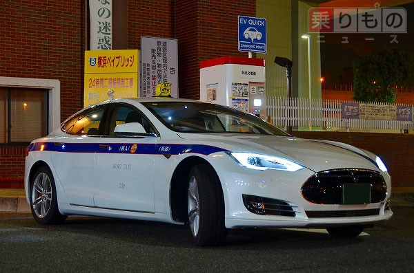 Taxi Company Starts Tesla Model S Service In Tokyo