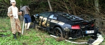 Team 72's Murcielago Crashed During 2013 Gumball