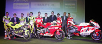 Team Aspar Unveils 2011 Bikes in MotoGP, Moto2 and 125GP