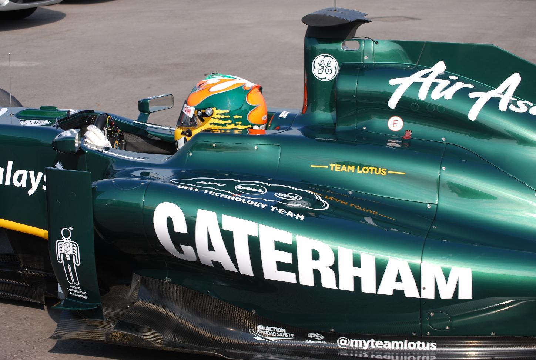 Team Lotus F1 Cars to Sport Caterham Logo at Silverstone - autoevolution