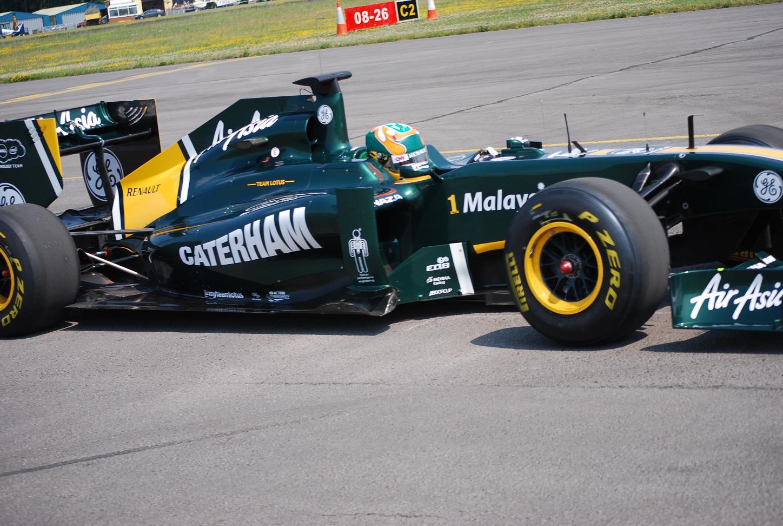 Team Lotus F1 Cars to Sport Caterham Logo at Silverstone ...