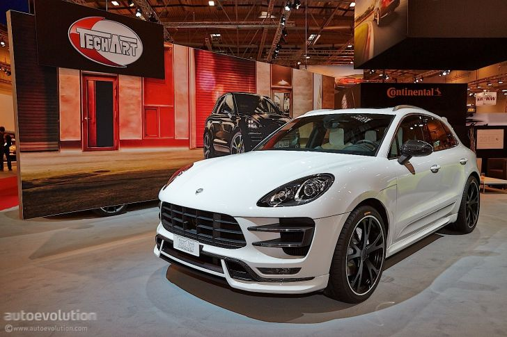 Techart Porsche Macan Turbo Feels Lavish At Essen 2014