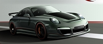 Techart Renders Its 2012 Porsche 911 Project for Next Geneva Show