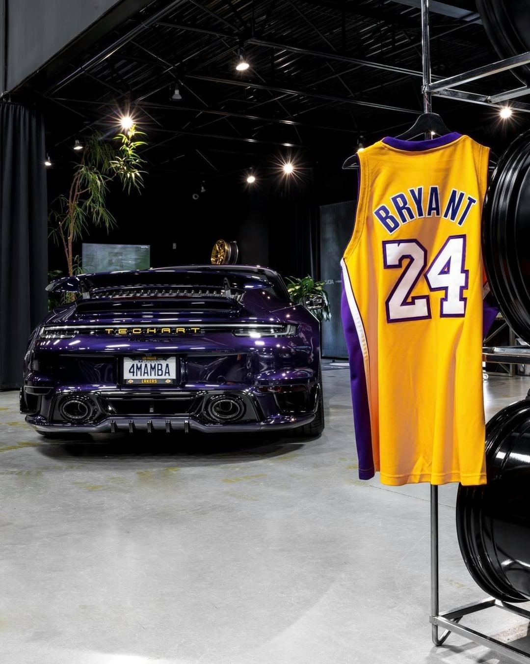 One-of-a-Kind Porsche 911 Turbo S Is a Tribute to Kobe Bryant