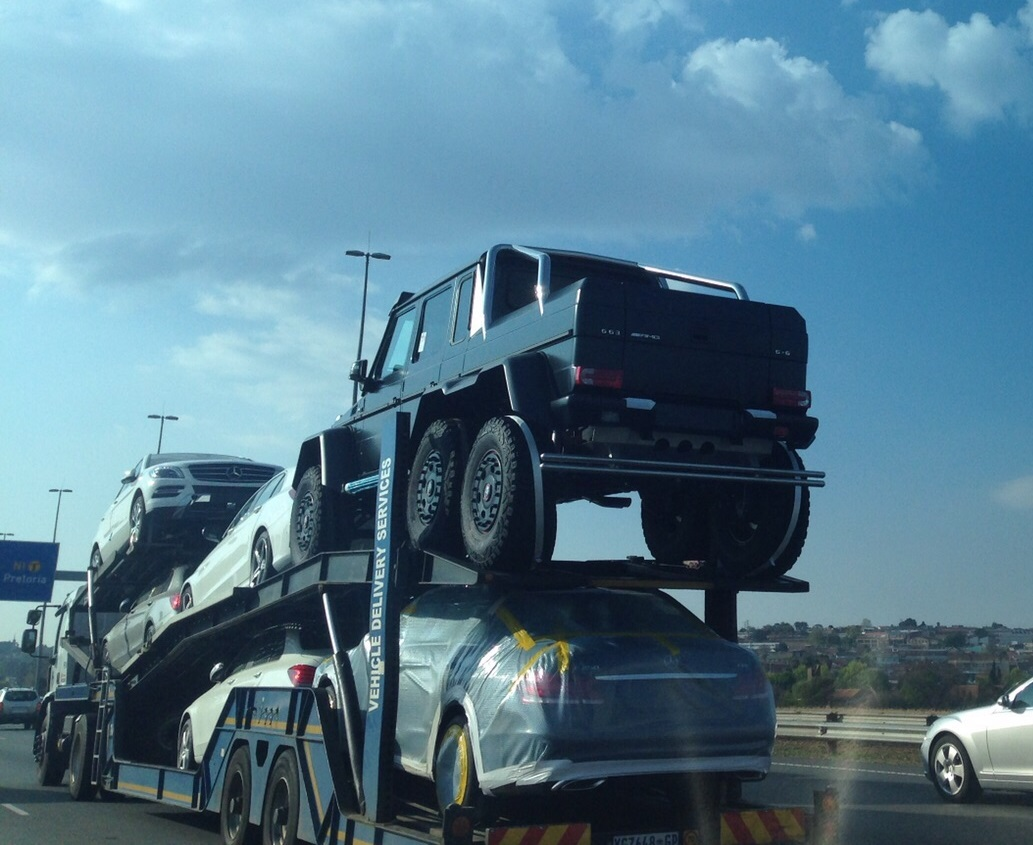 Ten Mercedes Benz G63 Amg 6x6s Reach South Africa Might All Be Bought By The Same Man Autoevolution
