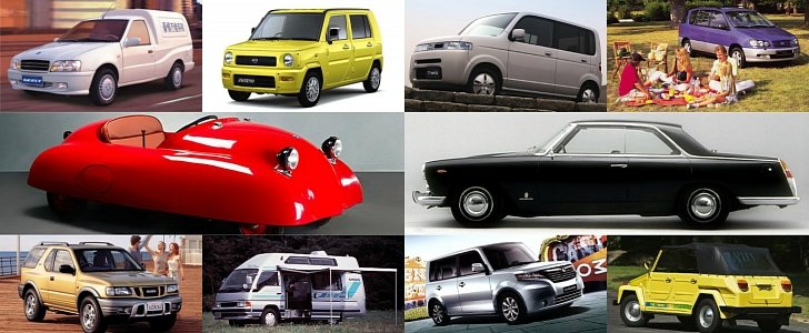Ten Obscure Cars with Weird Names - autoevolution