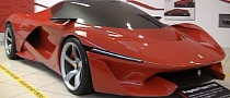 Tensostruttura Is Yet Another LaFerrari Prototype [Video]
