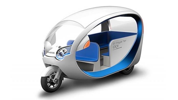 Terra Motors e-Trike, the Tuk-Tuk of the Future