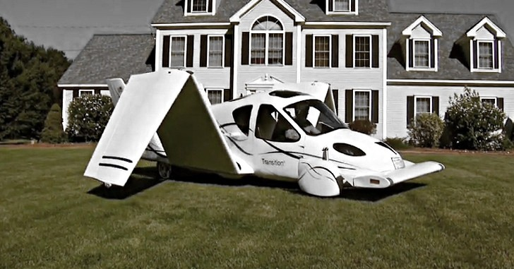 Terrafugia Transition Flying Car Successfully Completes Testing