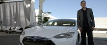 Tesla CEO Elon Musk Gets Second Model S