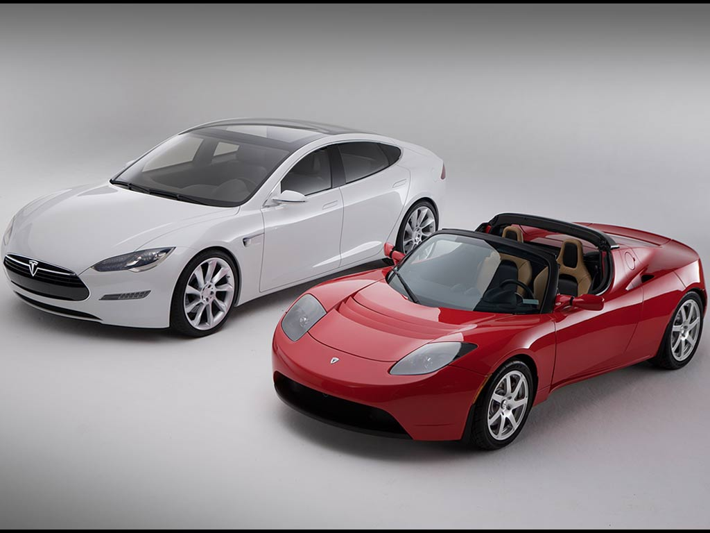 electric car manufacturer tesla currently on the market for a