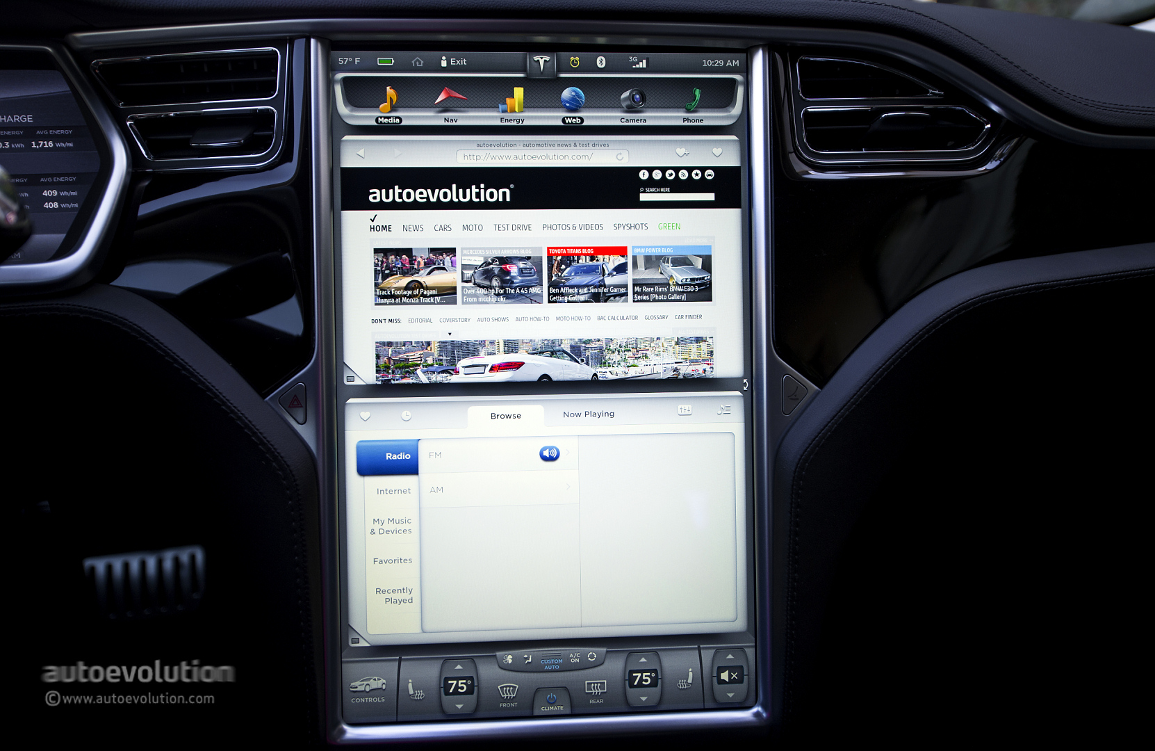 Tesla Firmware 6 0 Updates Detailed Autoevolution