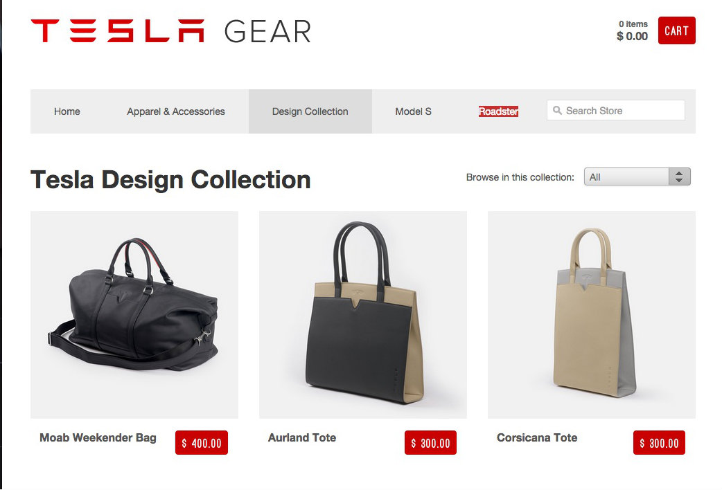 Tesla Gear Website Fires Up Tesla Apparel Doesn T Look