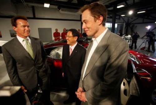 Tesla is worth more but Toyota gets carmaking, Akio Toyoda says