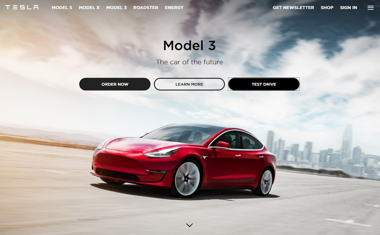 tesla model 3 configurator opens to everyone who wants to go electric autoevolution. Black Bedroom Furniture Sets. Home Design Ideas