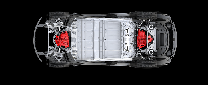"""Tesla Model 3 Dual-Motor Coming In """"Probably July"""" 2018 - autoevolution"""