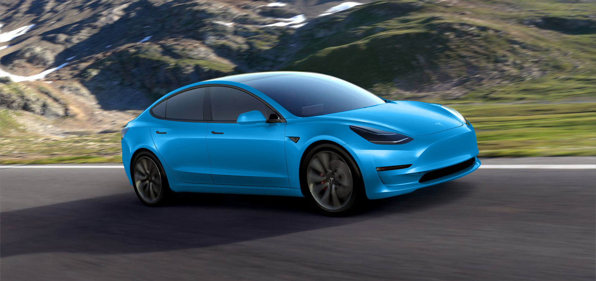 Car Apr Calculator >> Tesla Model 3 Gets Rendered in Dozens of Colors, Looks Good in All of Them - autoevolution