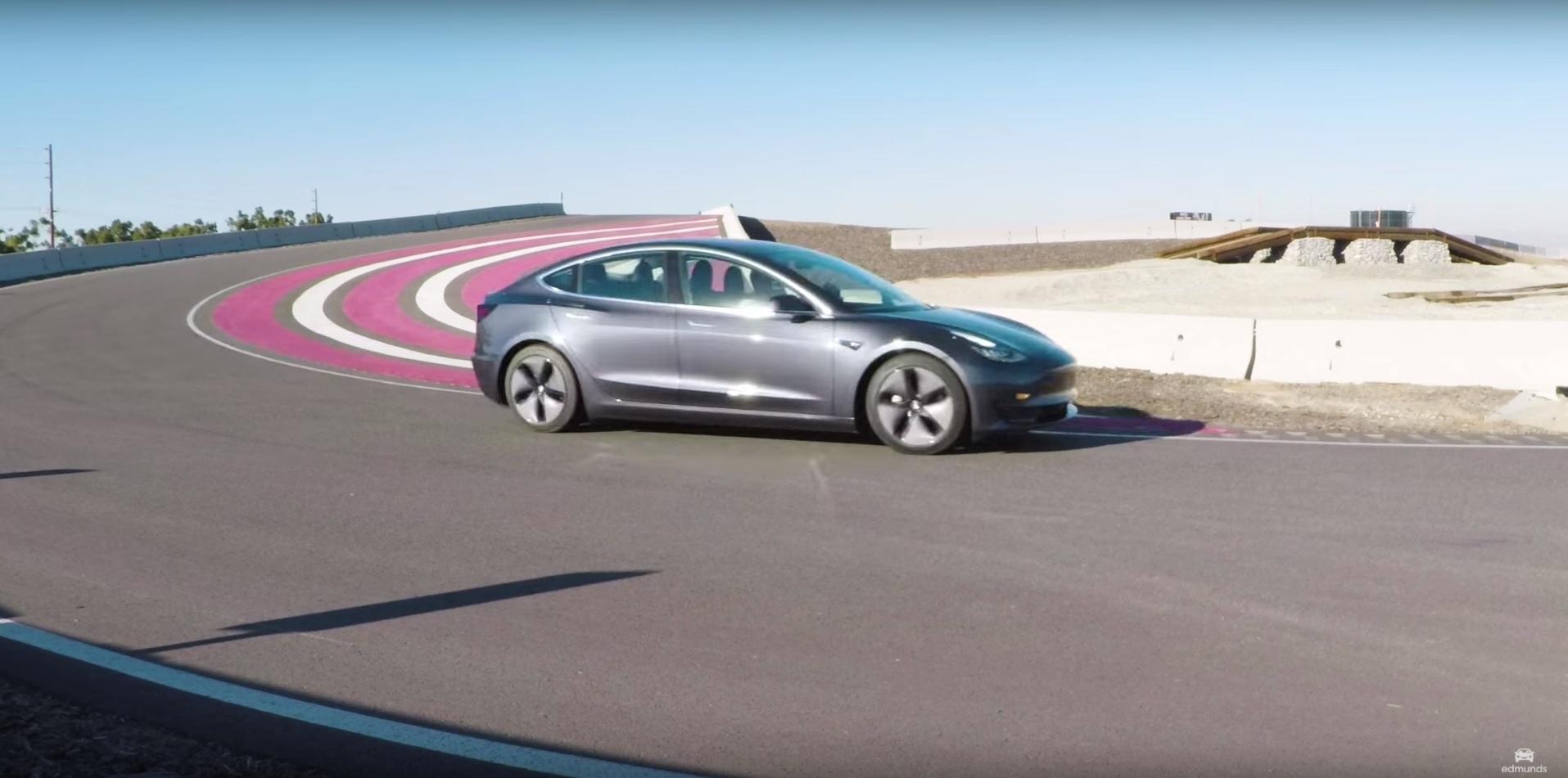 Tesla model 3 edmunds