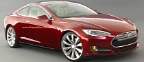 Tesla Model S Coupe Rendering