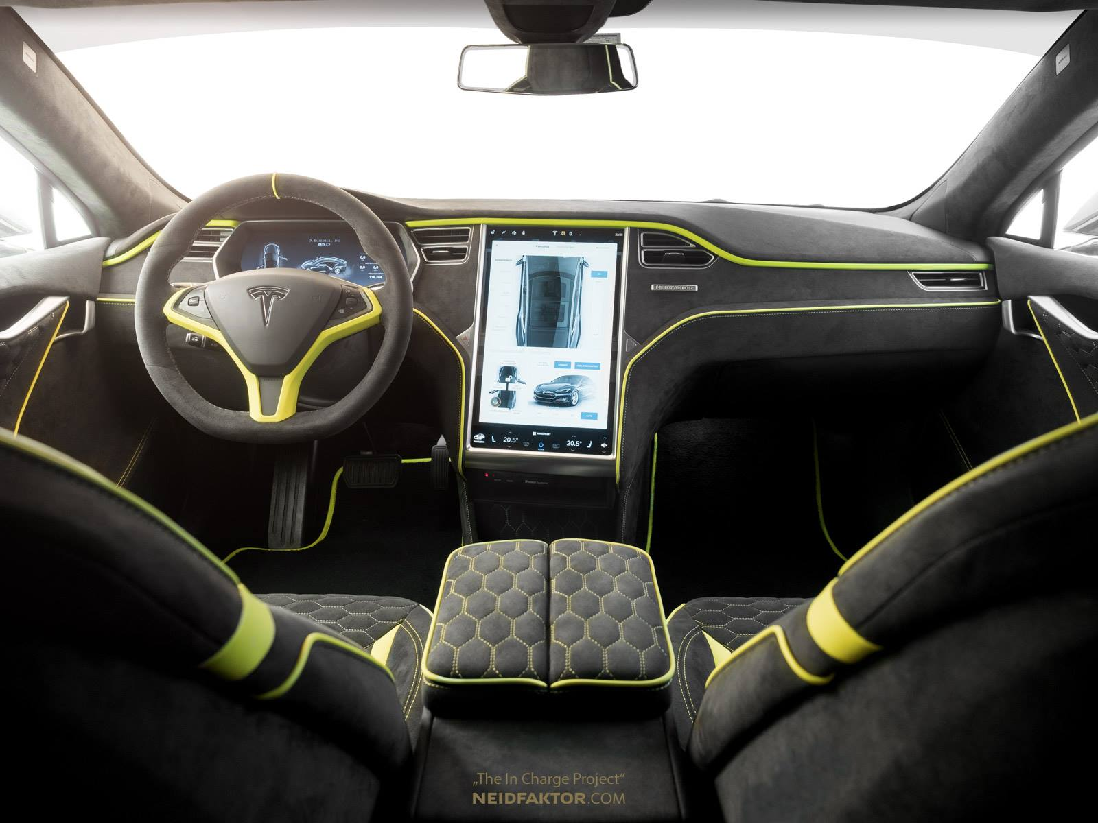 Tesla model s interior business insider interior of for Interior tesla model s