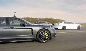 Tesla Model S P100D vs Mercedes-AMG GT 63 S Drag Race Is a Riot