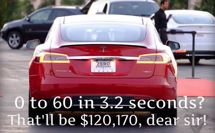 Tesla Model S P85d 85d 60d Pricing Tech Package With Autopilot