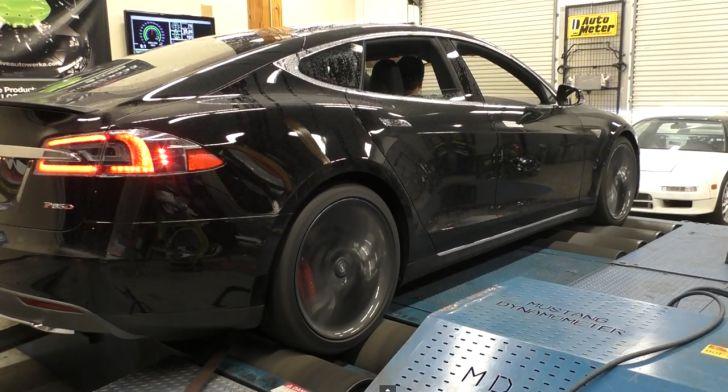 Tesla model s p85d torque