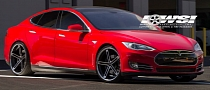 Tesla Model S Sports 22-Inch Zenetti Capri Wheels
