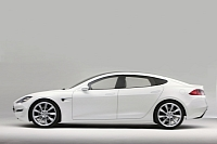 Tesla Model S will be launched in 2012