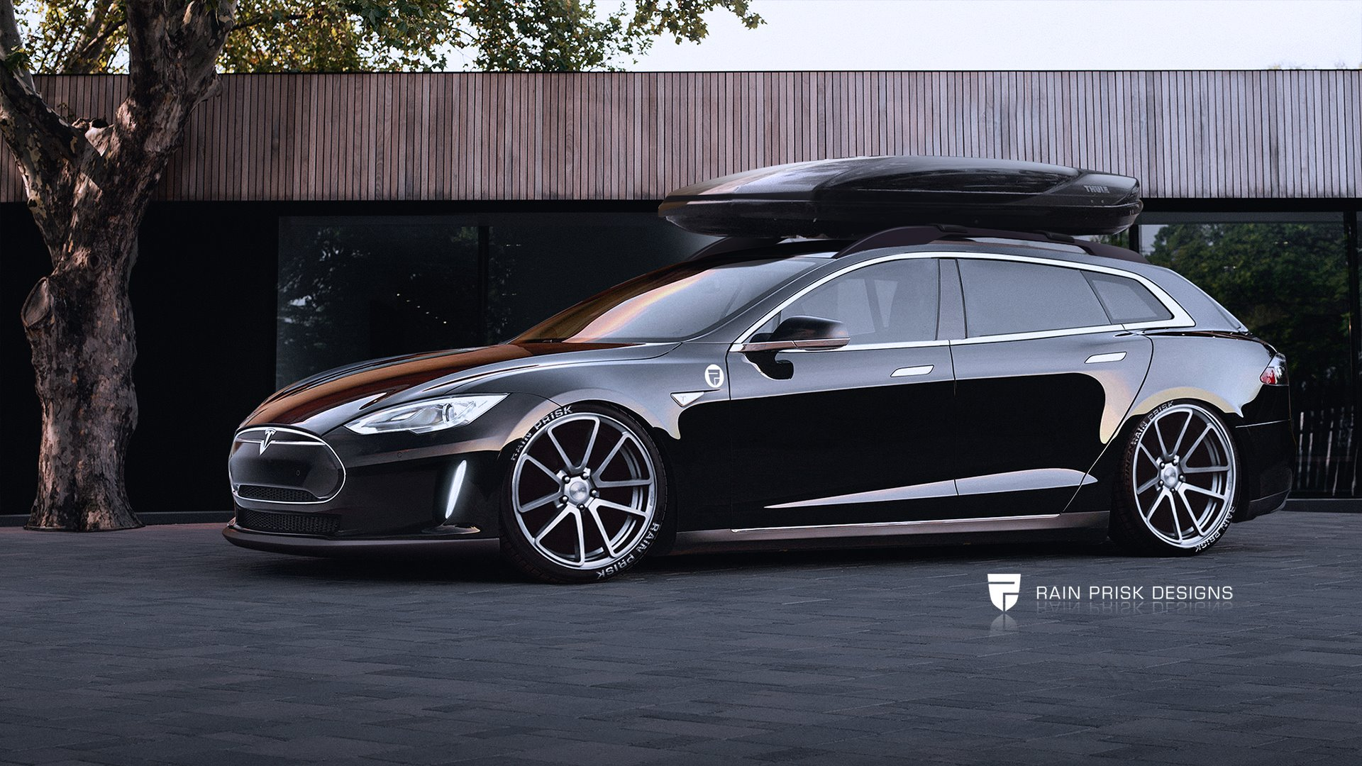 tesla model s wagon looks brilliant too bad it won t. Black Bedroom Furniture Sets. Home Design Ideas