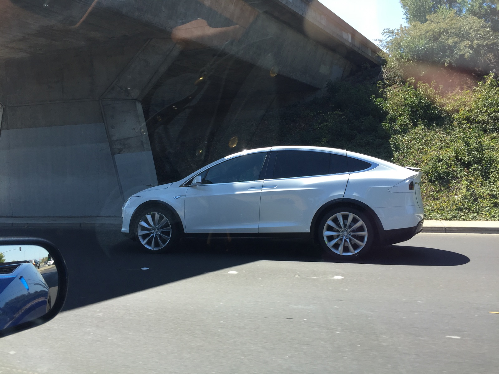 Tesla Model X Spotted with Huge Panel Gaps, Is Tesla Testing Falcon