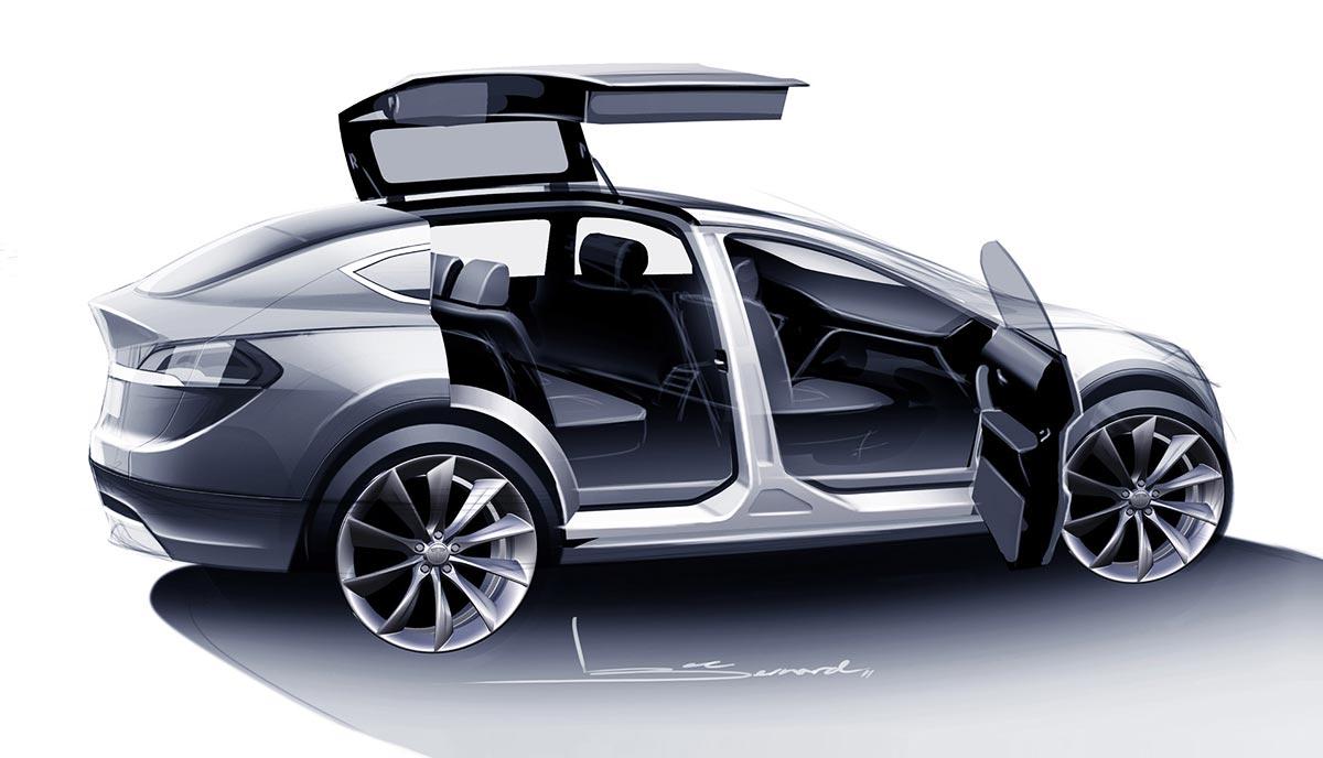 Tesla Model Y Crossover Will Have Falcon Doors Deleted Musk Tweet