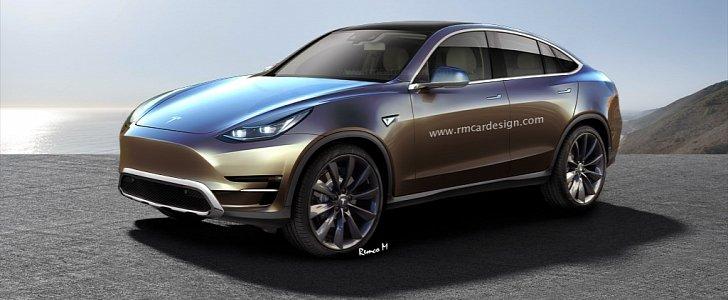 Tesla Model Y Rendering Looks Like The World S First