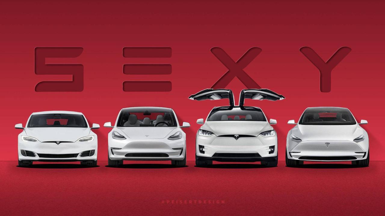 Tesla Model Y To Complete Elon Musk S S3xy Lineup In 2019