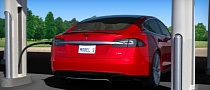 Tesla Opens First East Coast 'Supercharger' Charging Stations