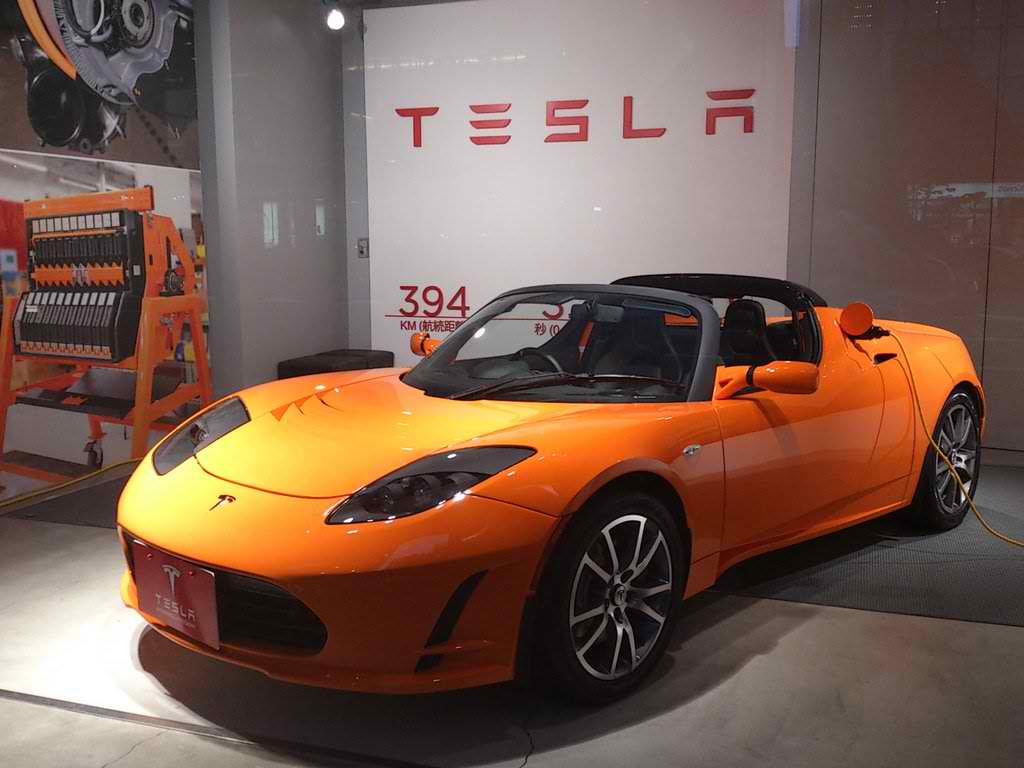 Tesla Partners Up With LG To Make Batteries Autoevolution - A tesla car