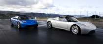 Tesla Roadster Debuts at the Scottish Motorfair