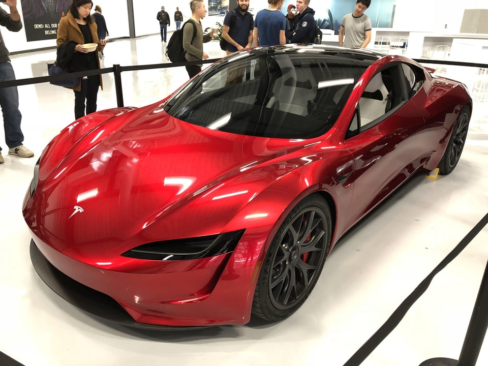 tesla roadster ii makes rare public appearance looking as stunning as ever autoevolution. Black Bedroom Furniture Sets. Home Design Ideas