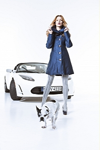 The Roadster, a model and probably one famous dog