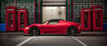 Tesla Roadster Right-Hand Drive Launched in London