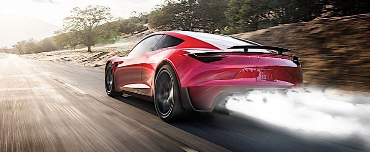 Tesla Roadster SpaceX Rocket Package Rendered - autoevolution