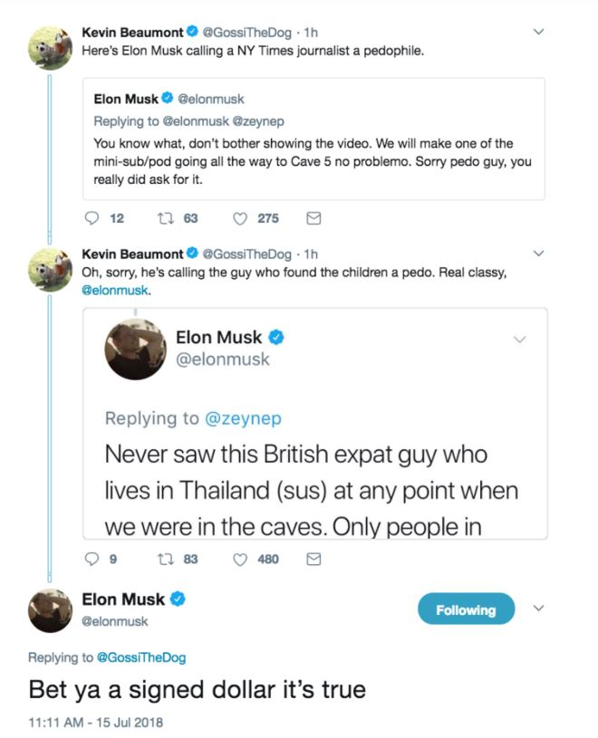 Thailand cave rescuer considers legal action against Elon Musk for 'pedo' comment