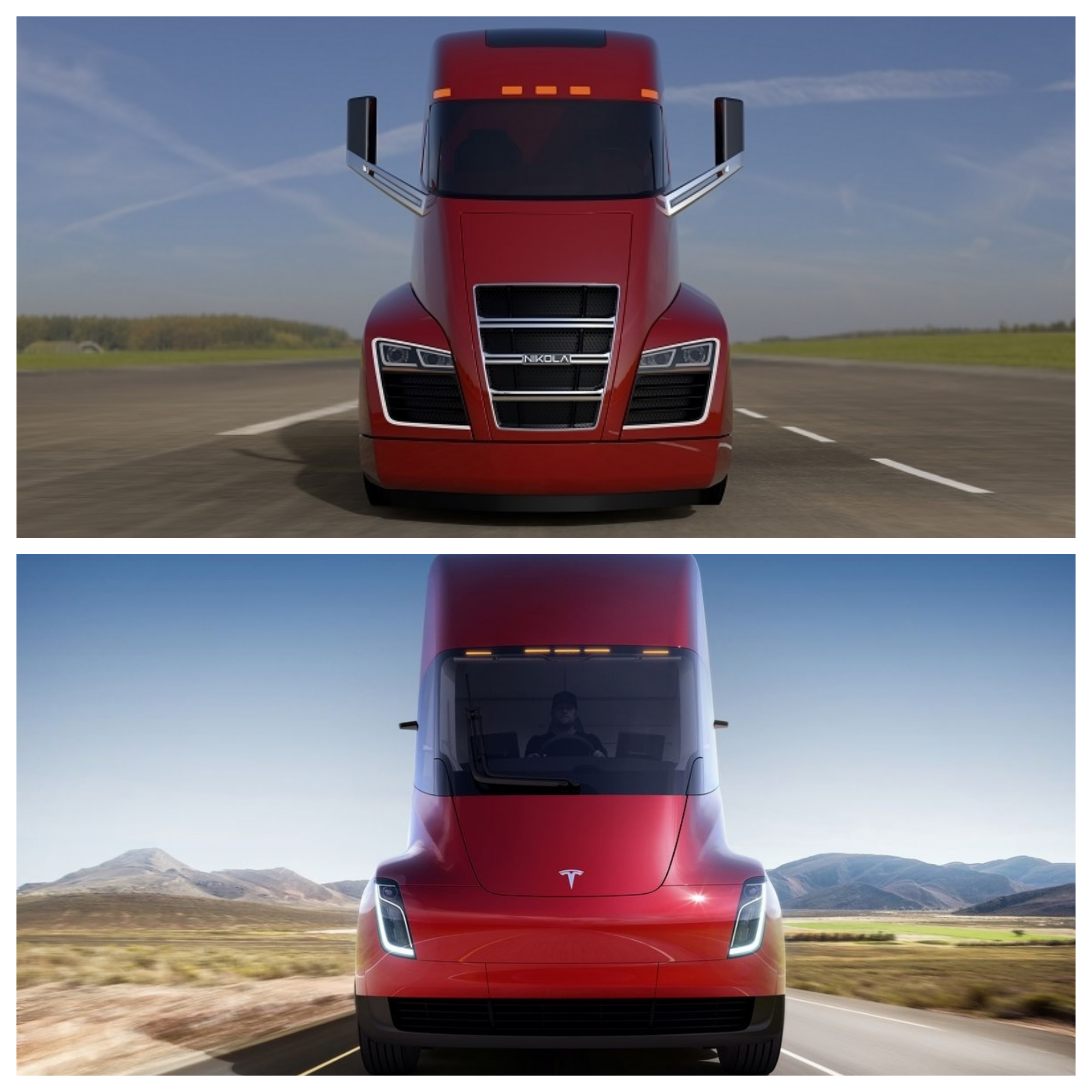 Startup sues Tesla for $2 billion over electric big rig truck design