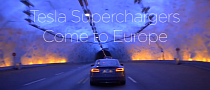Tesla Superchargers Launched in Norway [Video]
